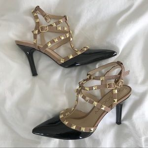 Shoes - Sole society rock stud heels size 9